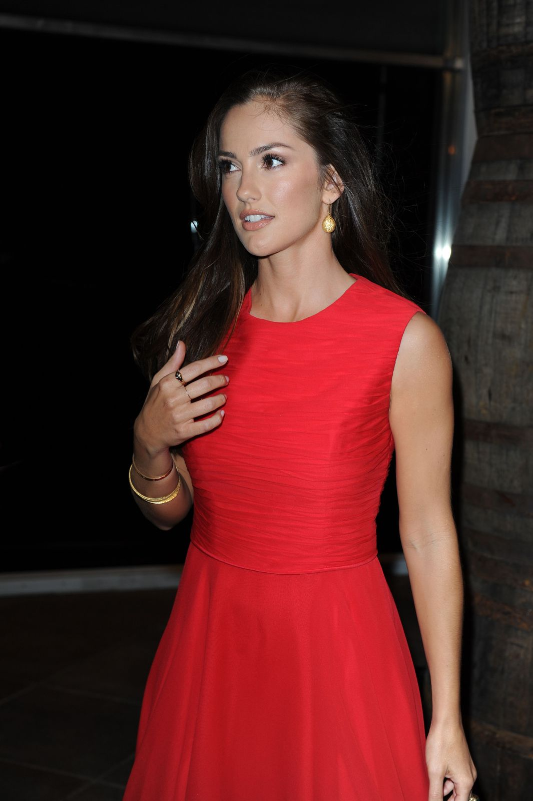 """Minka Kelly"" Gorgeously Red at Bacardi 150th Anniversary ..."