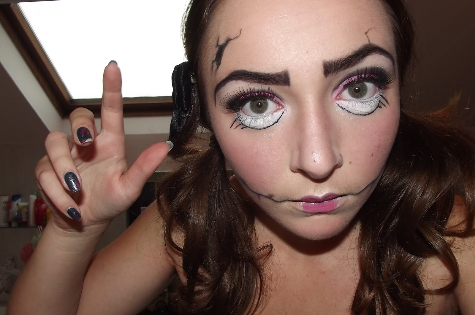 maquillage dhalloween pour fille ado facile