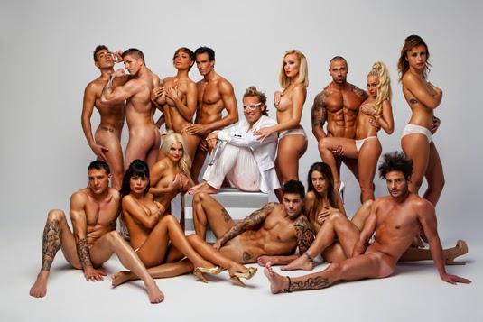 gay desnudo cama: