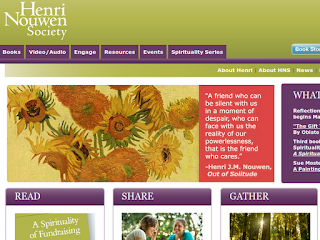 The Henri Nouwen Society website