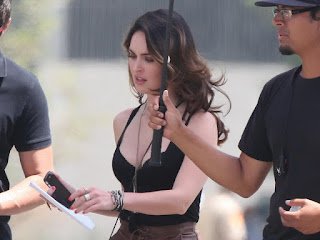Megan Fox Sexy Cleavage Hot Cleavy Big Boobs