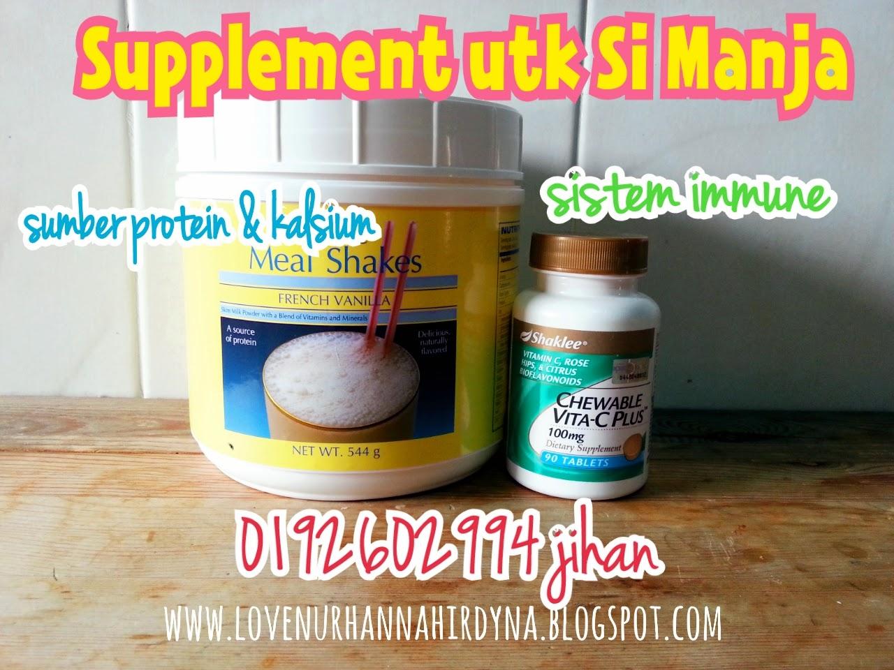 supplement shaklee untuk anak