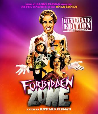 Forbidden Zone: Ultimate Edition Blu-ray