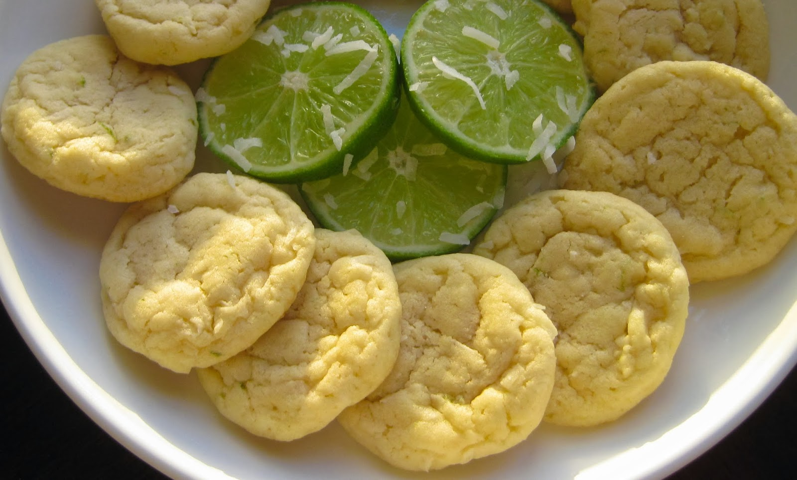 ... Vegetarian Food Blog: Coconut-Lime Sugar Cookies - Blogger Cookie Swap