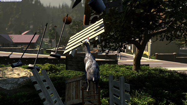 Goat Simulator 2014 Full ISO - ohgamegratis screenshot 1