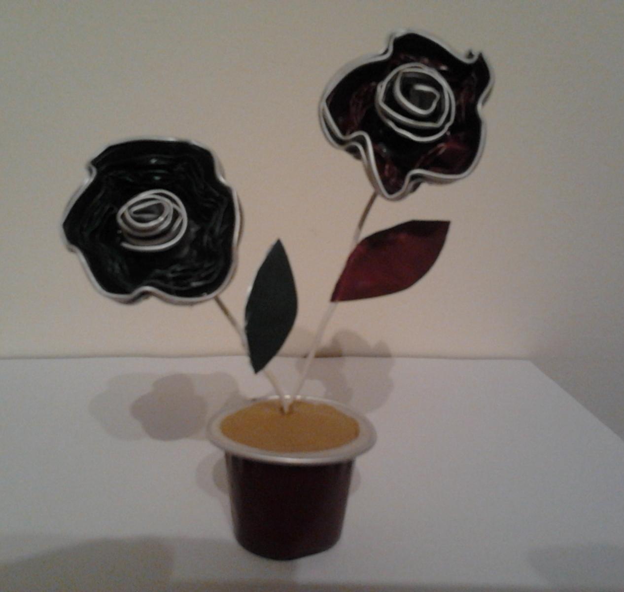 Leo vi se manualidades con c psulas nespresso - Que hacer con capsulas nespresso ...