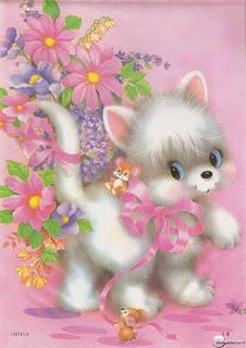papeis de carta lilás