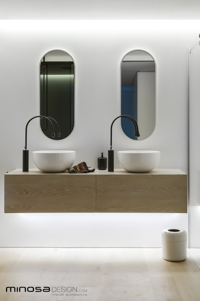Minosa Clean Simple Lines Slick Bathroom Design By Minosa