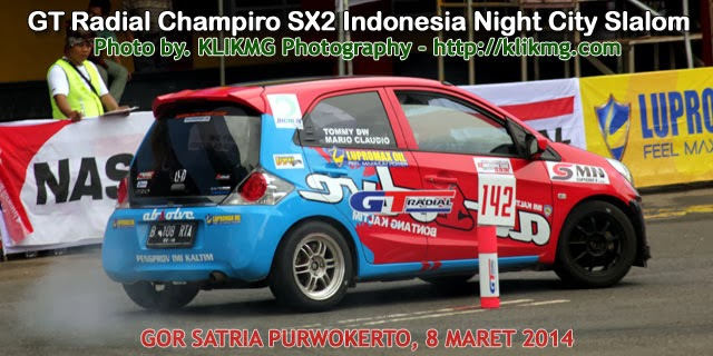 Judul Foto : GT Radial Champiro SX2 Indonesia Night City Slalom | Fotografer & © of Fotografi : klikmg.com fotografer purwokerto/ fotografer banyumas | Tanggal Pemotretan : Sabtu 8 Maret 2014 | Waktu Pemotretan : Jam 11:00 sampai dengan selesai | Jumlah Foto : 9 Fotos