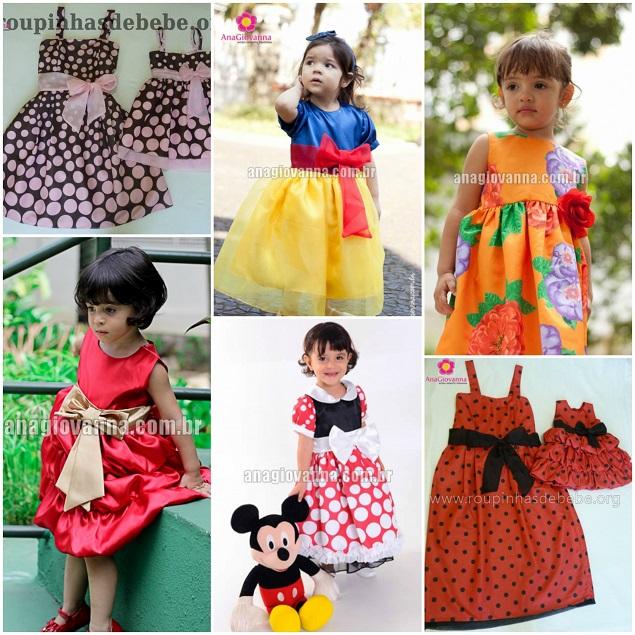 Vestido de meninas