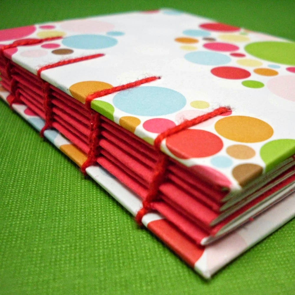 https://www.etsy.com/listing/62424875/coptic-notebook-colorful-polka-dot