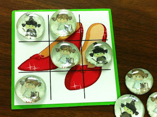 wizard of oz tic tac toe party game
