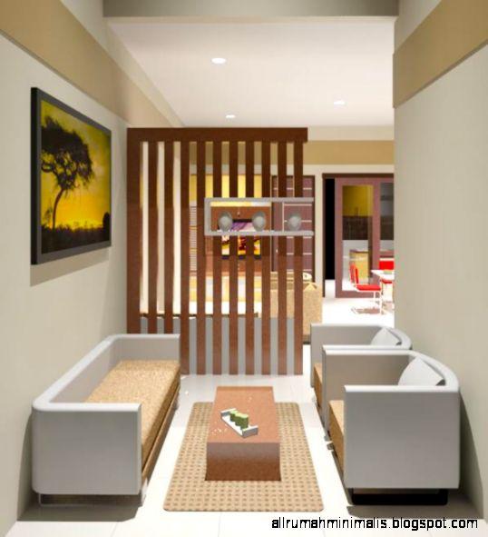 Desain Gambar Interior Rumah Sederhana Mungil Modern