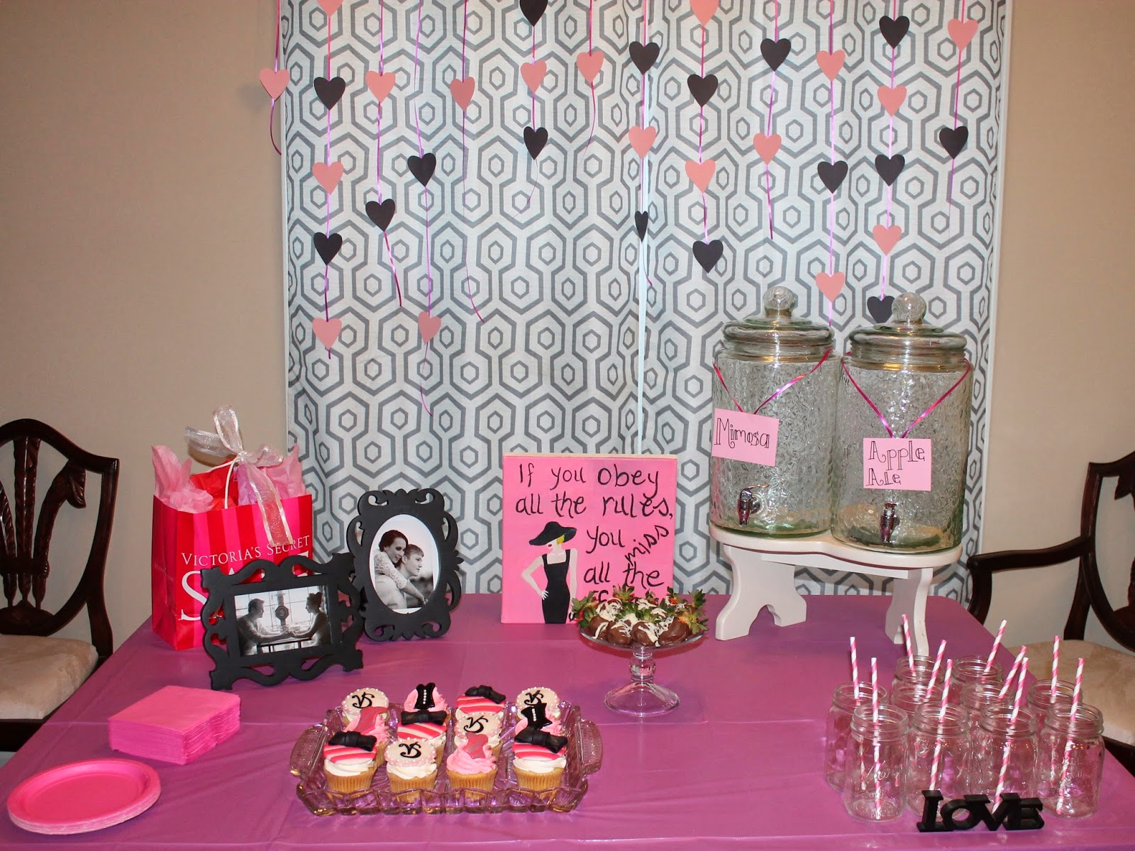 ink pad invites lingerie scrapbook shower