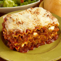 And because I don't have any pictures of this actual lasagna, I ...