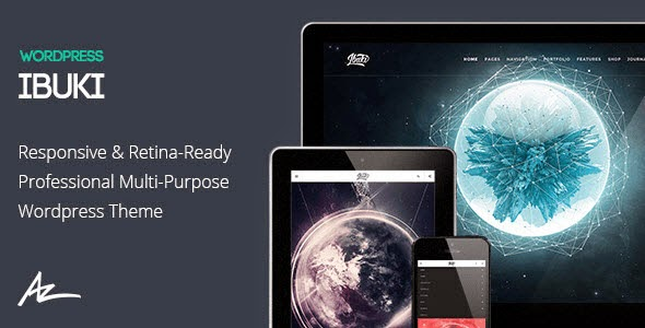 IBUKI WordPress theme