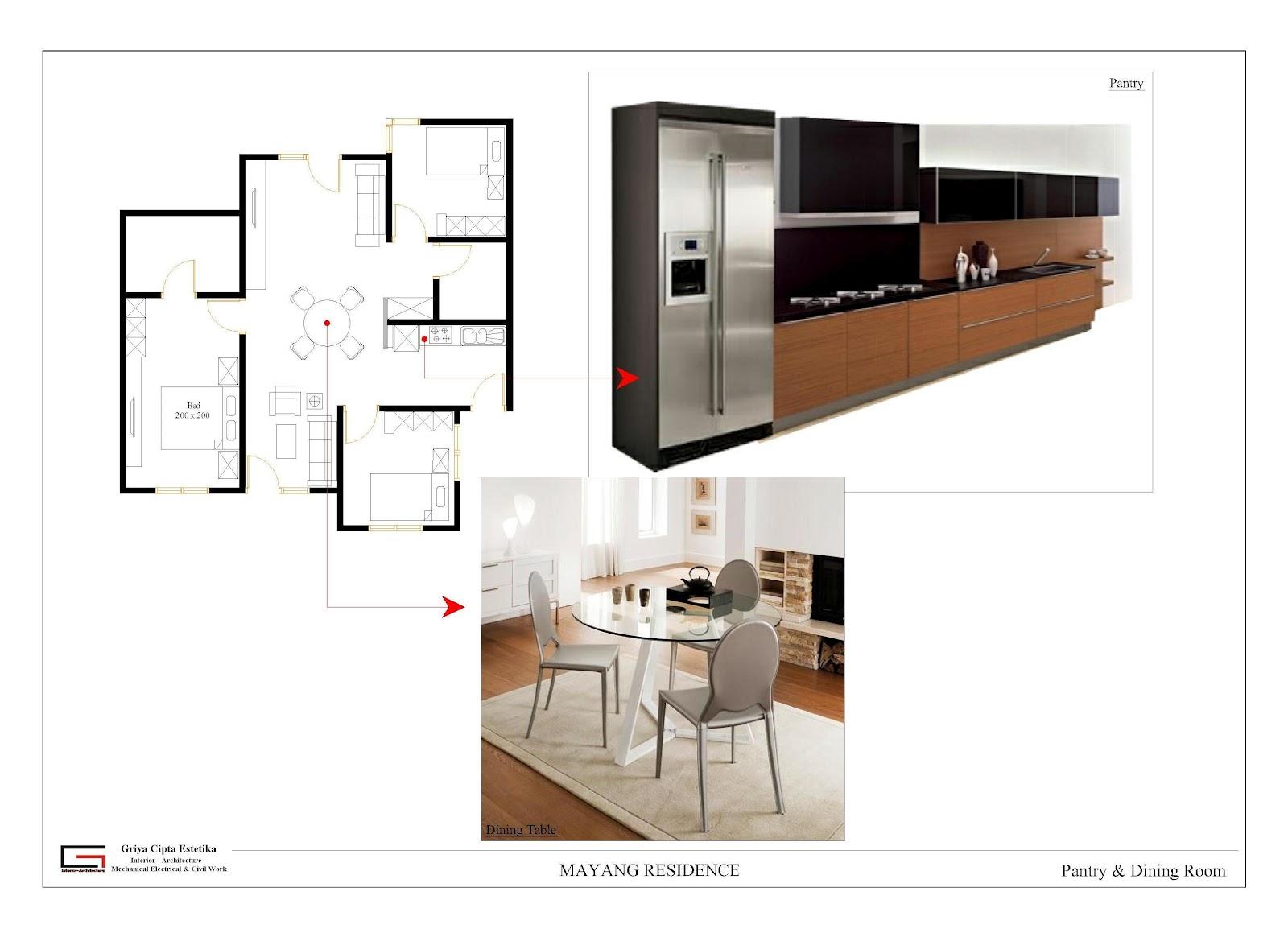 Interior minimalis memberikan kesan mewah pada rumah tinggal for Kitchen set mewah