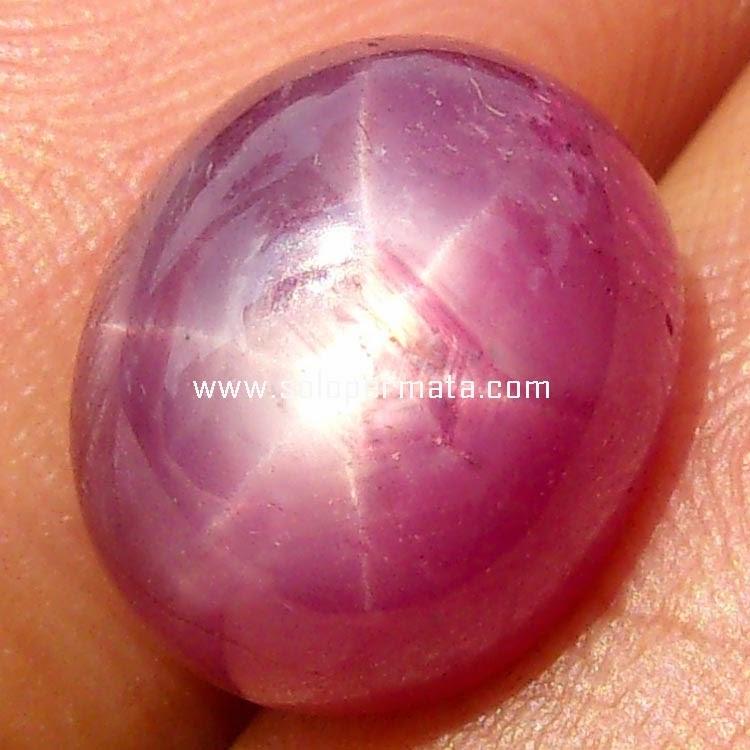 Batu Permata Ruby Star - sp037