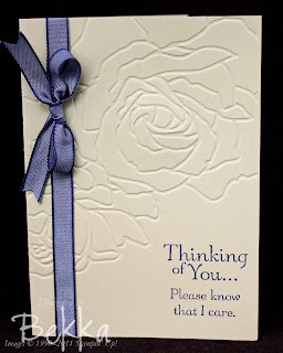 Manhattan Flower Sympathy Card