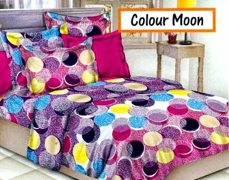 Sprei motif Colour Moon