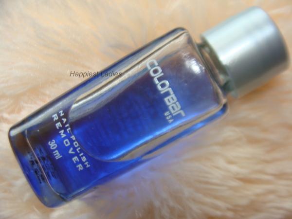 Colorbar Nail Polish Remover Review+nail polish remover