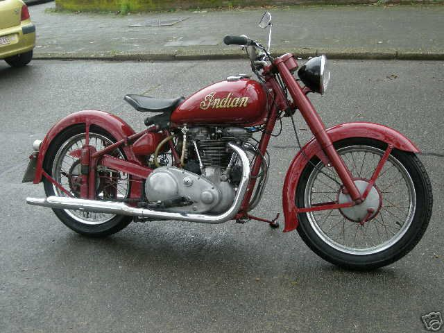1949 Indian Motorcycles