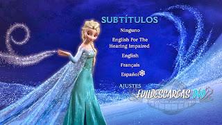 Frozen Una Aventura Congelada DVDR Full Español Latino