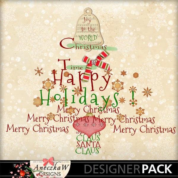 Free Christmas wordart