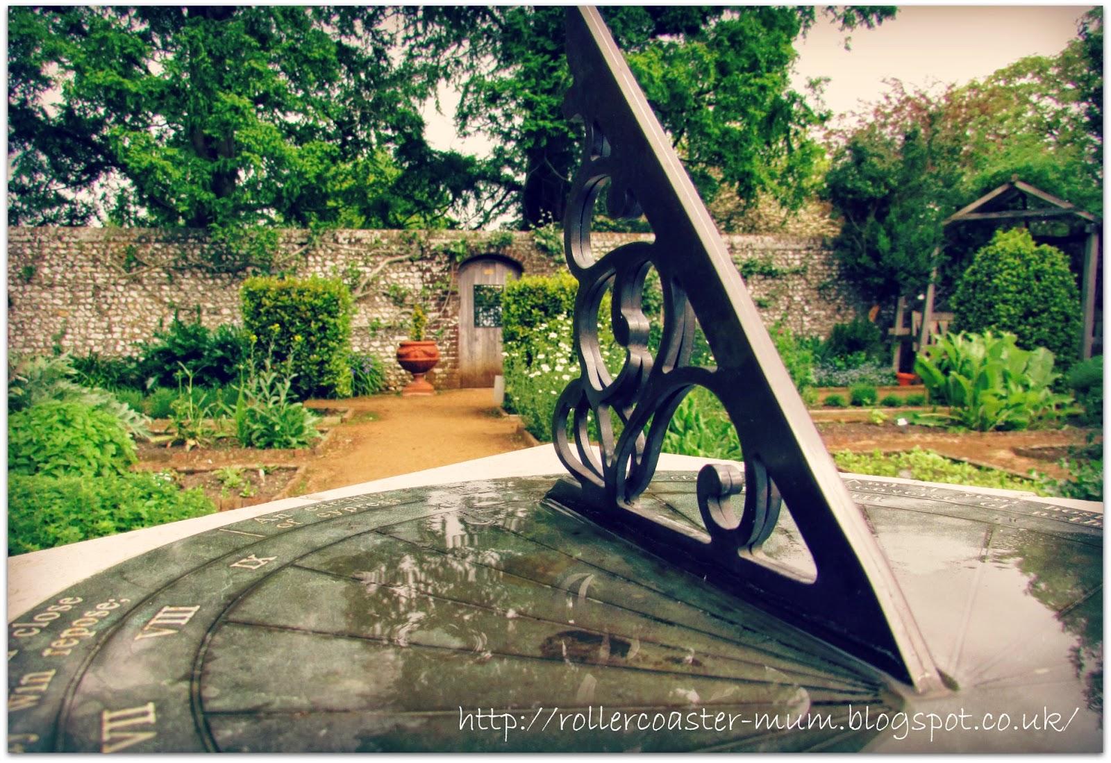 walled garden, Petersfield Physic Garden