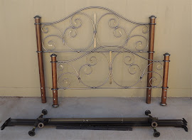 Headboard, Footboard, &amp; Frame (SOLD)