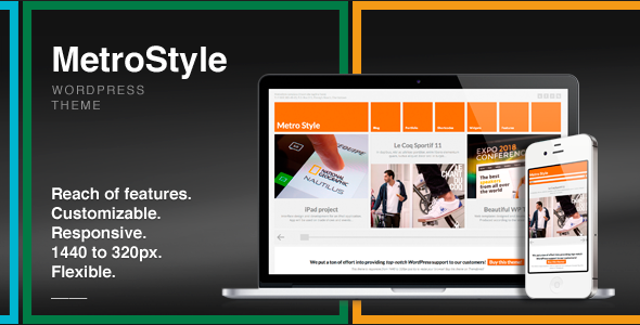 MetroStyle Responsive All Purpose Wordpress Theme free
