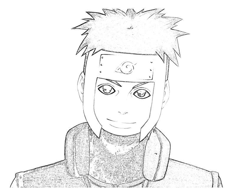 printable-naruto-yamato-character_coloring-pages