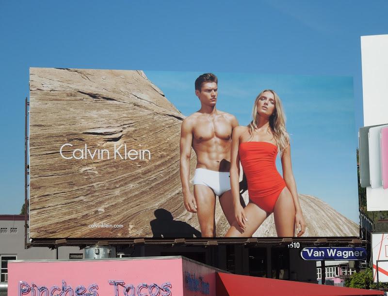 CK swimwear 2012 ad