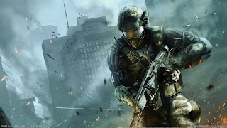 Crysis 2 Nanosuit Shot Helmet HD Wallpaper