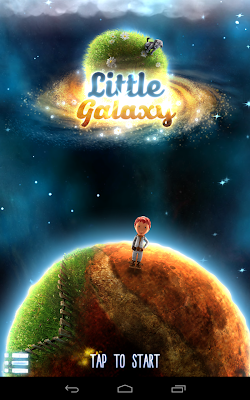 Little Galaxy: Launch screen