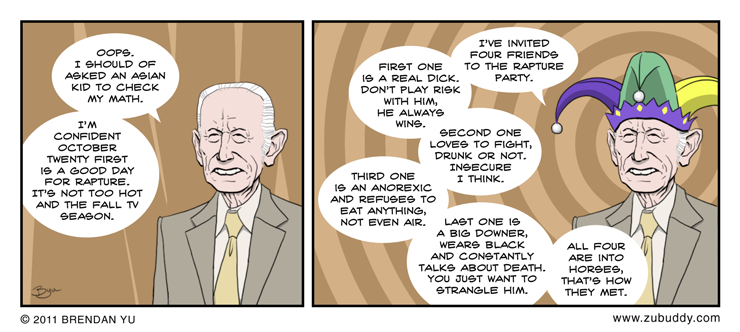 Pastor Harold Camping's Rapture Party