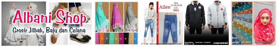 Albani Shop - Grosir Jilbab, Baju dan Celana
