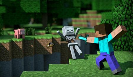 Jugar a juegos fan Minecraft Online