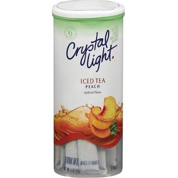 crystal light peach iced tea. Black Bedroom Furniture Sets. Home Design Ideas
