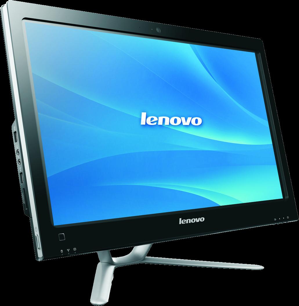 общий вид моноблока Lenovo IdeaCentre C440