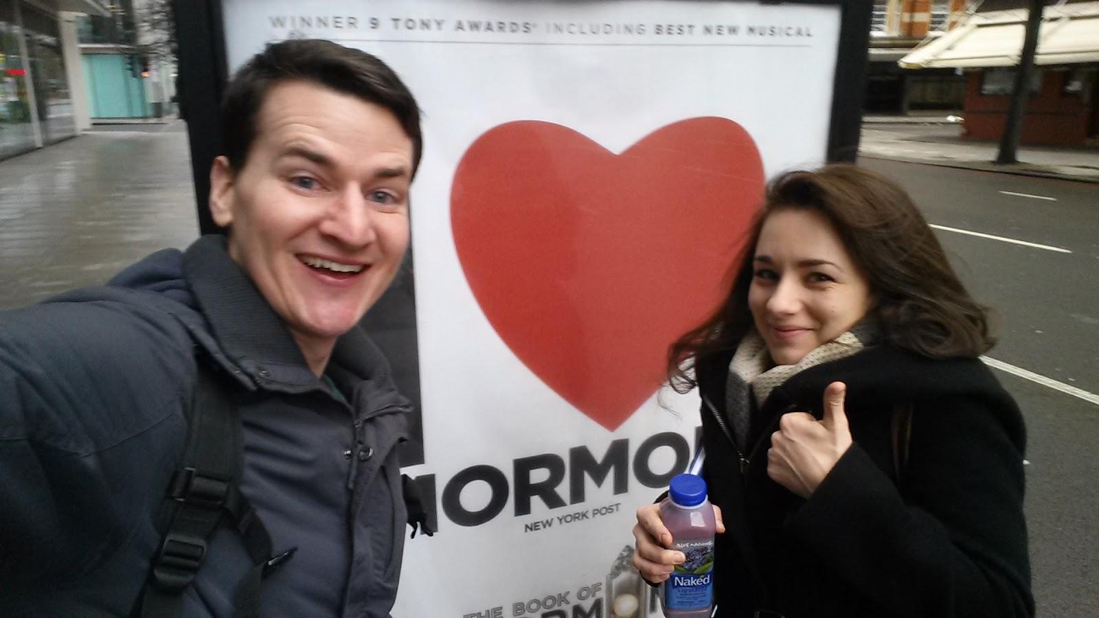 I heart mormons selfie