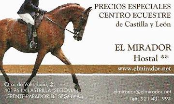 Colabora con: CENTRO ECUESTRE de Castilla y León