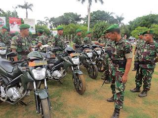 TNI Gelar Pasukan Pengamanan Pilkada 2015