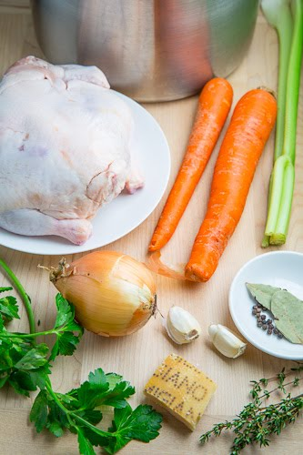 Closet Cooking: Easy Homemade Chicken Broth