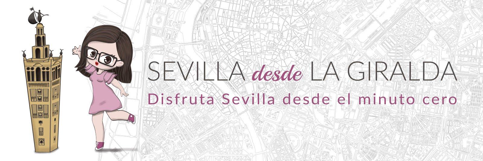 Compras y guía de Sevilla. Sevilla desde La Giralda