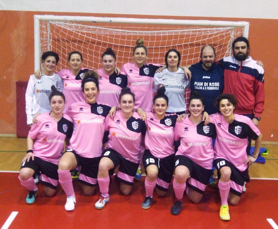 Pian di Rose calcio a 5 femminile