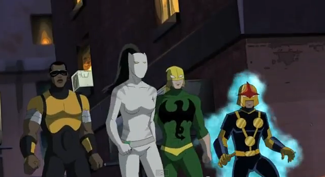 Ultimate spider man tv series characters nova - Nova ultimate spider man ...