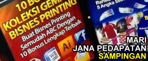 Jana Pendapatan Dengan Bisnes Printing