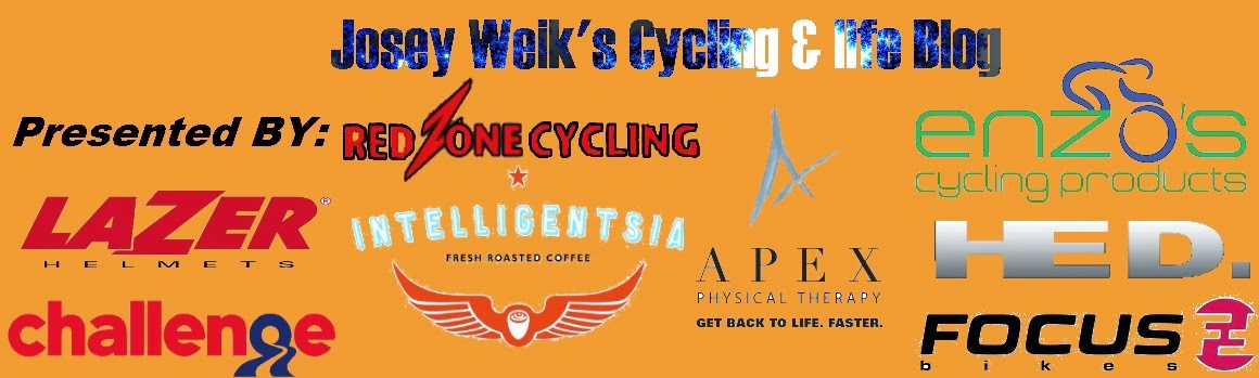Josey Weik's Cycling & Life Blog