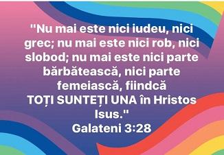 """Cum răstălmăcesc """"creştinii LGBT"""" afirmaţia biblică """"nu mai este nici parte bărbătească, nici..."""""""